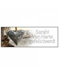 Pure & Natural 35 Sarah! Van harte gefeliciteerd!