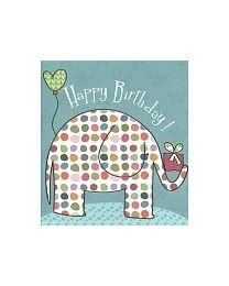 Animals 9 Happy birthday (olifant)