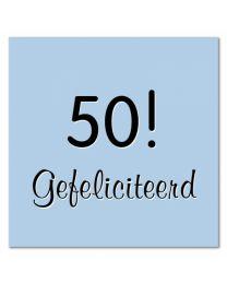 Evy 18  50! Gefeliciteerd