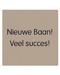 Evy 26  Nieuwe Baan! Veel succes!