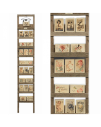 Affichage de l'échelle avec Sachets parfumés série 1 complet