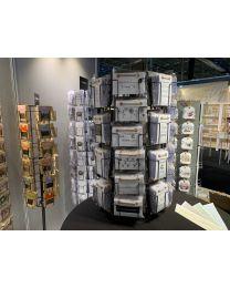 A10: Display Stoer 40-vaks (40 pakjes Stoer wenskaarten inclusief 40-vaks molen)