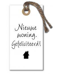 Ieniemini 24 Nieuwe woning. Gefeliciteerd!