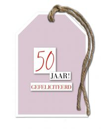 Bronze 23 50 jaar! Gefeliciteerd