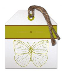 Flow (T) 30 Blanco vlinder