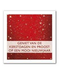 Kerst 20-01 Geniet van de kerstdagen en proost op een mooi nieuwjaar