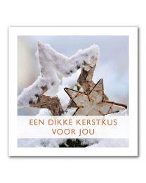 Kerst 20-14 Een dikke kerstkus voor jou