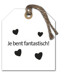 Black & White Mini 18 Je bent fantastisch