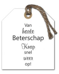Black & White Mini 22 Van harte Beterschap