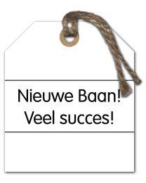 Black & White Mini 33 Nieuwe Baan! Veel succes!