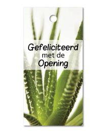 Green mini 09 Gefeliciteerd met de Opening
