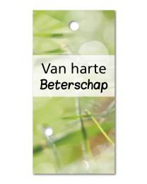 Green mini 16 Van harte Beterschap