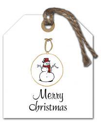 Black & White mini Kerst 06 Merry christmas