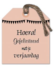 Ella 40 Hoera! Gefeliciteerd met je verjaardag