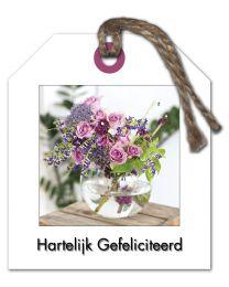 Fleur 15 Hartelijk Gefeliciteerd