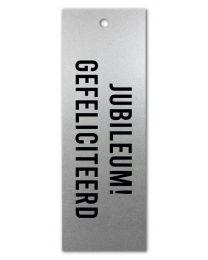 Zilver 09 Jubileum! Gefeliciteerd