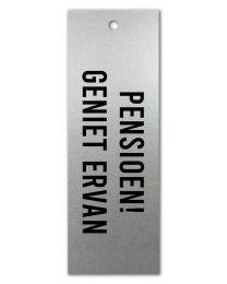 Zilver 12 Pensioen! Geniet Ervan