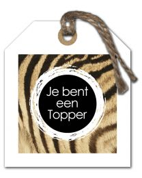 Stripes 25 Je bent een Topper