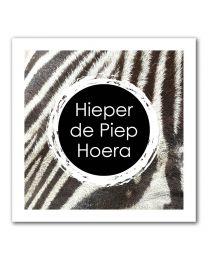 Stripes Vierkant 09 Hieper de Piep Hoera