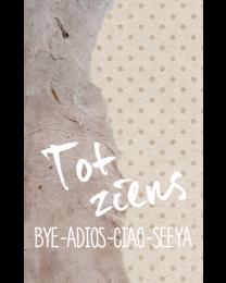 Crafty Postcard 16 Tot ziens bye-adios-ciao-seeya