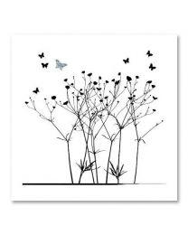 SOHO Vierkant 01 Butterfly/flowers