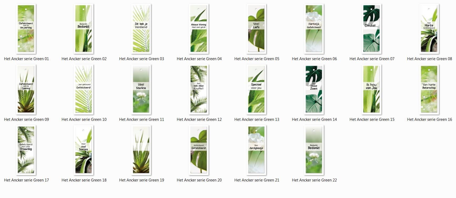 Nieuw: Label Green